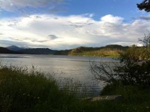 My swimming hole. Neskonlith Lake.